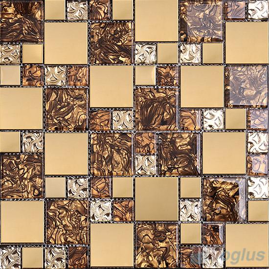 Magic Glass Metal Mix Mosaic Voglus Mosaic