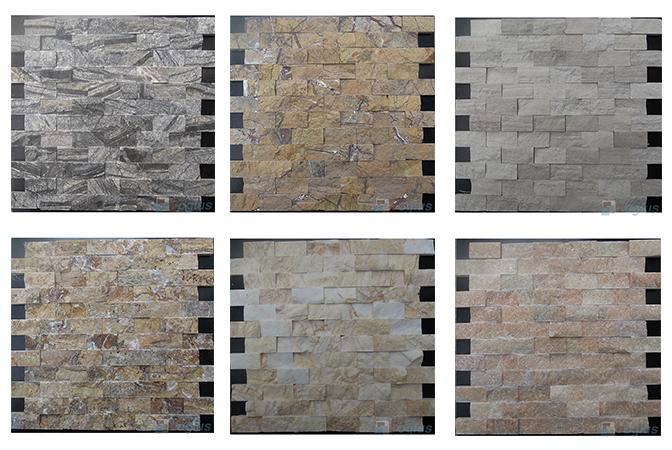Split Brick Marble Mosaic