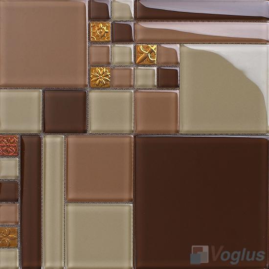Labyrinth Clear Crystal Mosaic VG-CYM96