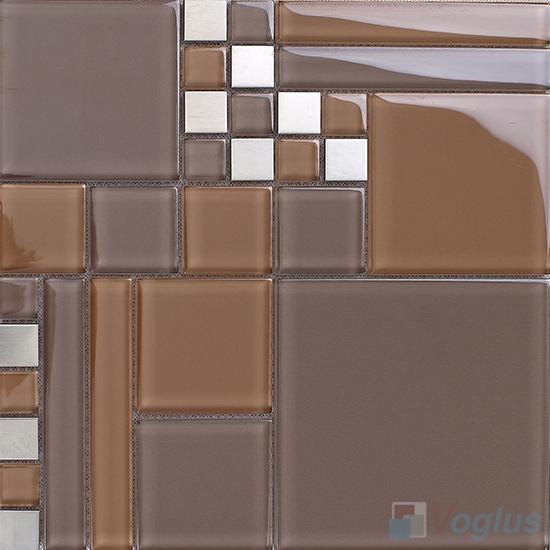 Labyrinth Clear Crystal Mosaic VG-CYM98