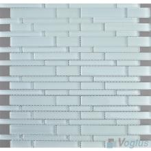 Alice Blue Linear Clear Crystal Glass Mosaic VG-CYL92