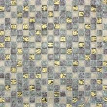Ash Gray Ice Crackle Glass Mosaic VG-CKA93