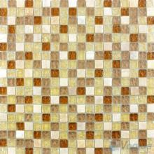 Beige Ice Crackle Glass Mosaic Mix Stone VG-CKA97
