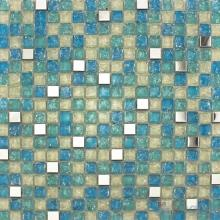 Cerulean Ice Crackle Glass Mosaic VG-CKA85