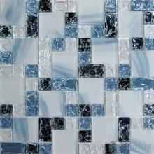 Coralina Magic Cube Ice Crackle Glass Mosaic Tiles VG-CKM87