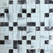 DayNight Magic Cube Ice Crackle Glass Mosaic Tiles VG-CKM89