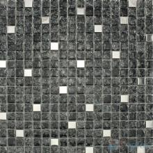 Titanium Black Ice Crackle Glass Mosaic VG-CKA86