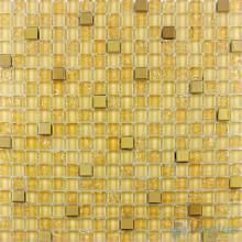 Vanilla Ice Crackle Glass Mosaic VG-CKA88