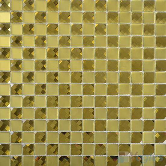 Jasmine 20x20mm Jewel Mirror Glass Mosaic Tile VG-MRF96