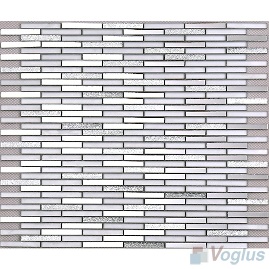 Silver Bullet Mirror Glass Tiles VG-MRL96
