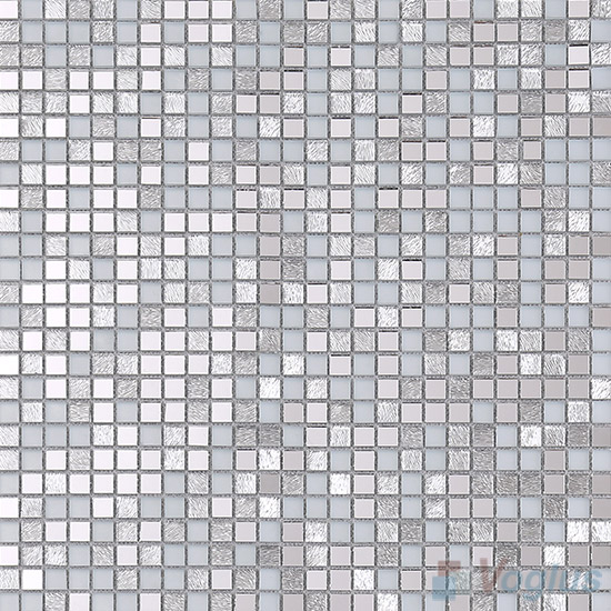 Silvero 10x10mm Mini Cut Mirror Glass Mosaic VG-MRJ96