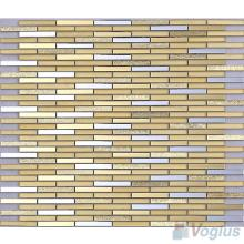 Golden Bullet Mirror Glass Tiles VG-MRL97