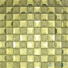 Straw Trapezia Mirror Glass Mosaic VG-MRB98