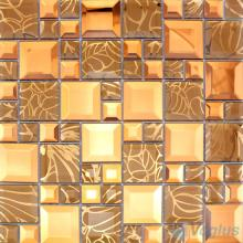 Tawny Magic Cube Mirror Glass Mosaic Tiles VG-MRM99