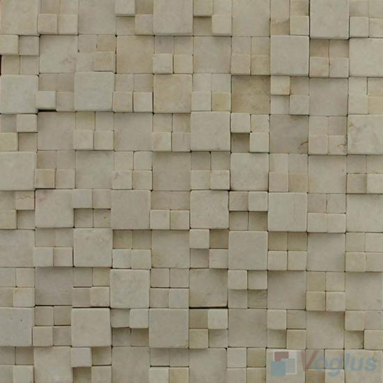 Beige Breakfront Marble Mosaic VS-PBF98