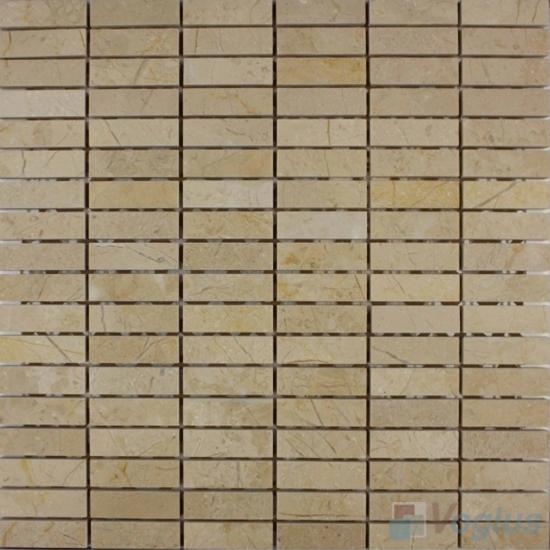 Beige Polished Stream Marble Mosaic VS-PSR94