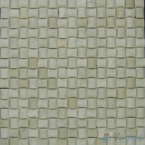 Beige Small Camber Stone Marble Mosaic VS-PCB97