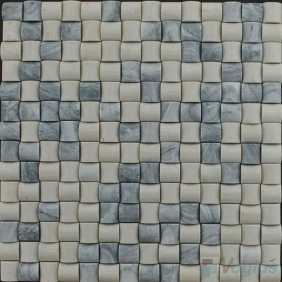 Cream Small Camber Stone Marble Mosaic VS-PCB96