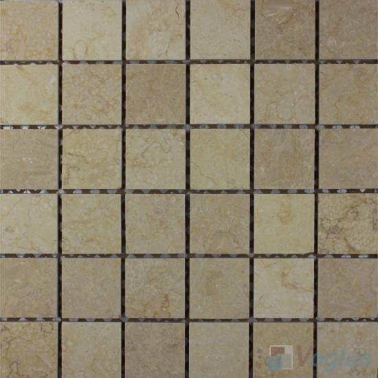 Egypt Beige 48x48mm Polished Classic Marble Mosaic VS-SEA95
