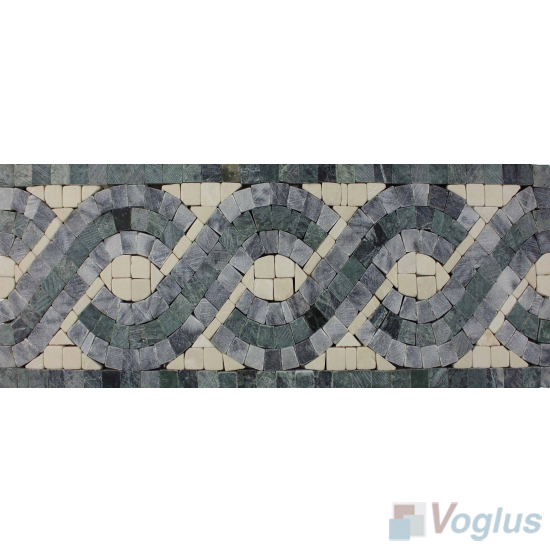 Embraced Marble Mosaic Border VS-ABD98