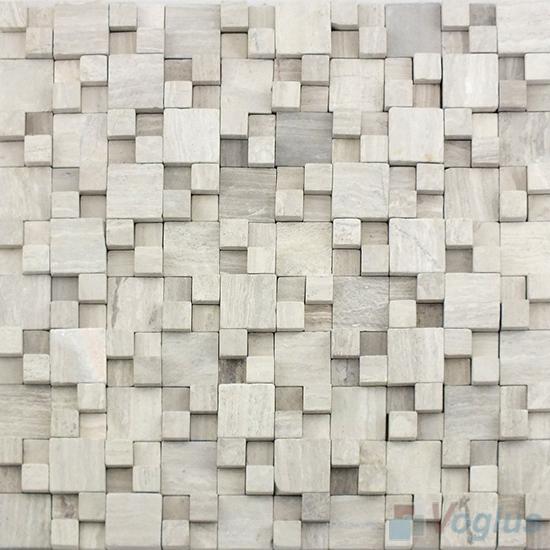 Gray Breakfront Marble Mosaic VS-PBF99