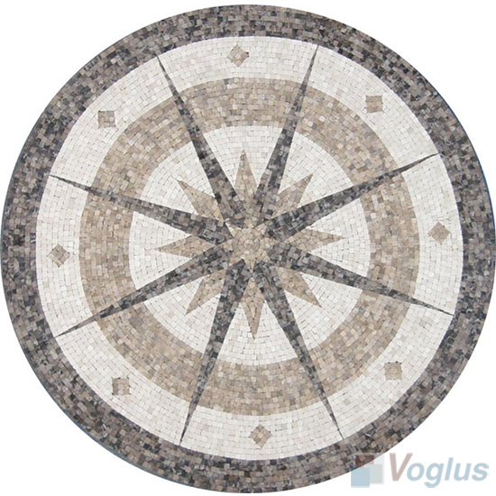 Marble Mosaic Medallion VS-AMD99