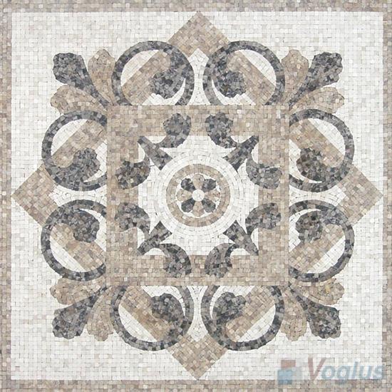 Marble Mosaic Square Medallion VS-ASQ98