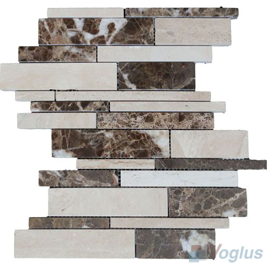 Polished Waterfall Stone Mosaic VS-PWF96