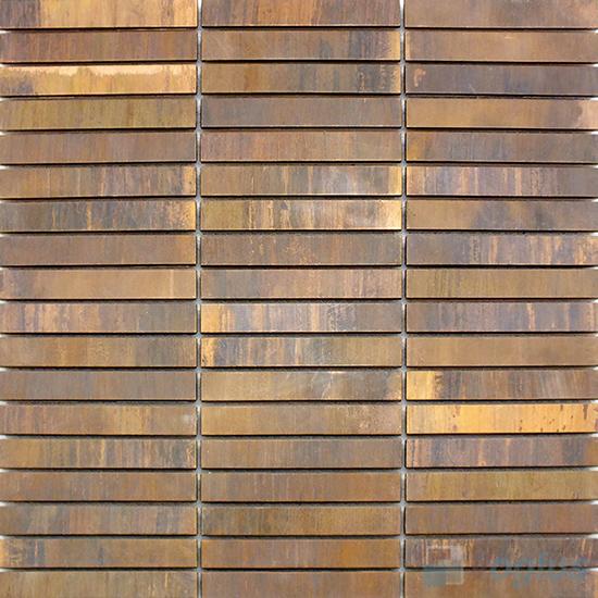 Stream Copper Metal Mosaic VM-CP99