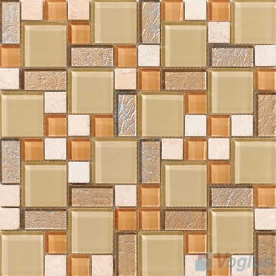 Buff Magic Glass Stone Mix Mosaic VB-GSM85