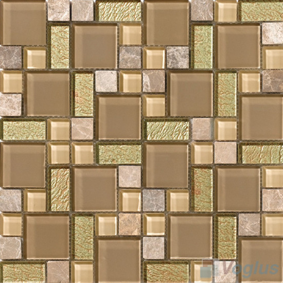Cemel Magic Glass Stone Mix Mosaic VB-GSM86