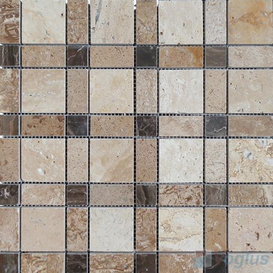 River Travertine Stone Mosaic VS-TV97