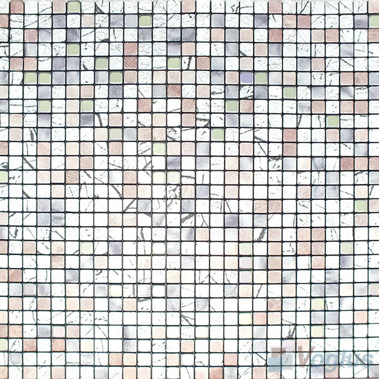 Aluminum Plastic Metal Mosaic VM-AP85