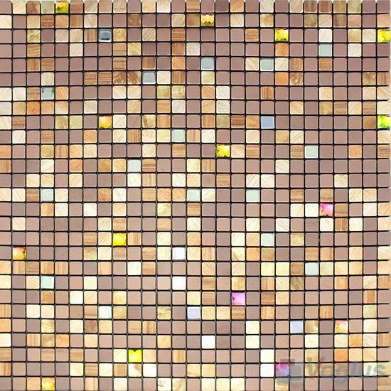 Aluminum Plastic Metal Mosaic VM-AP88