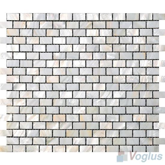 Subway Brick Mother of Pearl Shell Mosaic Tiles VH-PN96