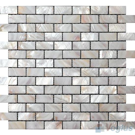 Subway Brick Mother of Pearl Shell Mosaic Tiles VH-PN97