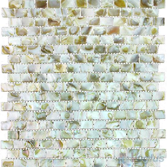Subway Brick Mother of Pearl Shell Mosaic Tiles VH-PN98