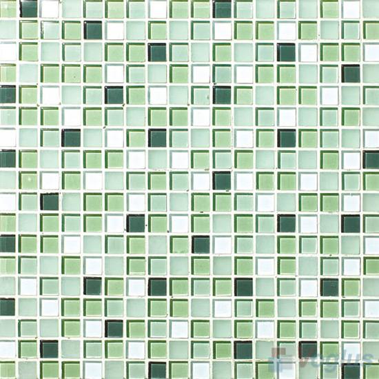 Mantis 15x15mm Blend Crystal Glass Mosaic VG-CYA89