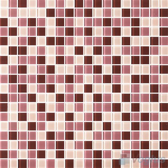Redwood 15x15mm Blend Crystal Glass Mosaic VG-CYA98