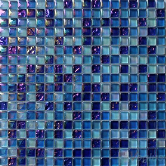 Sapphire 15x15mm Candy Crystal Mosaic VG-CYT99