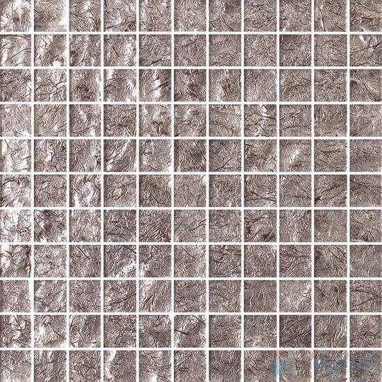 1x1 Gold Leaf Glass Mosaic Tile VG-GFB85