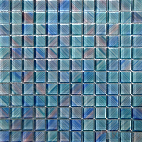 23x23mm Hand Painted Glass Mosaic Tile VG-HPG92