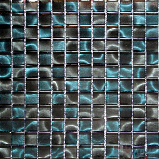 23x23mm Hand Painted Glass Mosaic Tile VG-HPG95