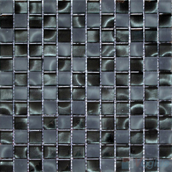 23x23mm Hand Painted Glass Mosaic Tile VG-HPG96
