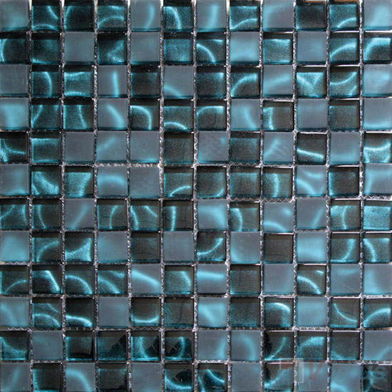23x23mm Hand Painted Glass Mosaic Tile VG-HPG99