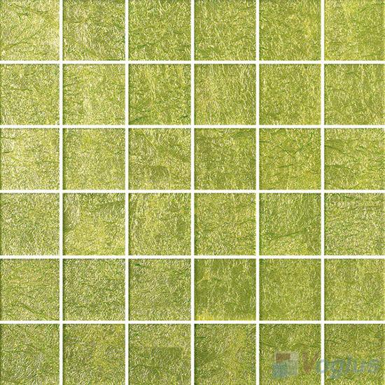 2x2 Heritage Gold Leaf Glass Tiles VG-GFE98