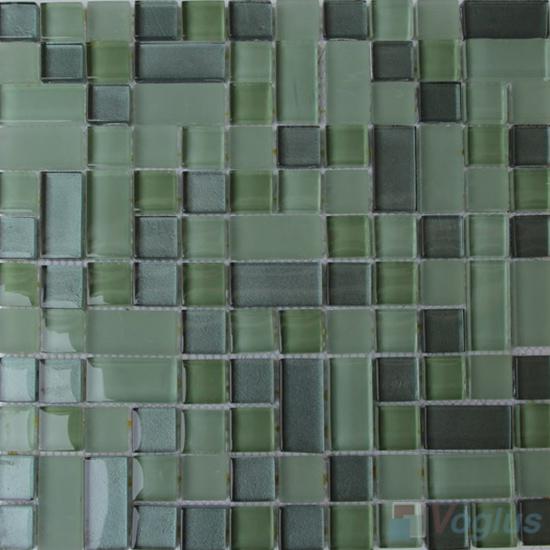 Asparagus Twingrace Crystal Tile Glass Mosaic VG-CYQ98