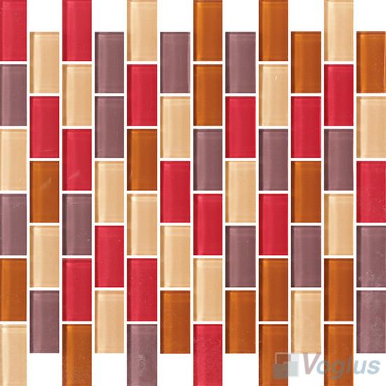 Brilight 1x2 Subway Brick Glass Tiles VG-CYD97