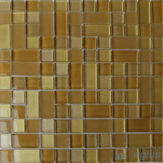 Saffron Twingrace Crystal Tile Glass Mosaic VG-CYQ97