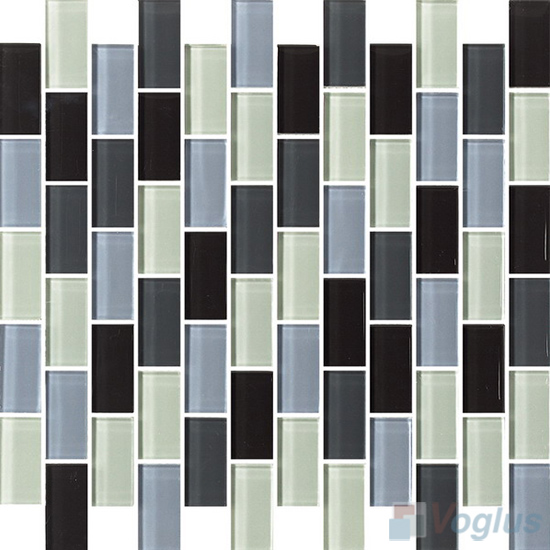 Softy 1x2 Subway Brick Glass Tiles VG-CYD95